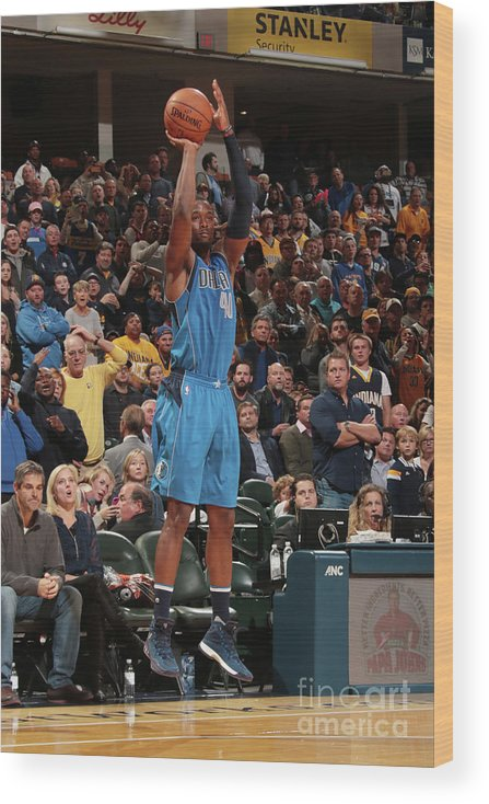 Nba Pro Basketball Wood Print featuring the photograph Harrison Barnes by Ron Hoskins