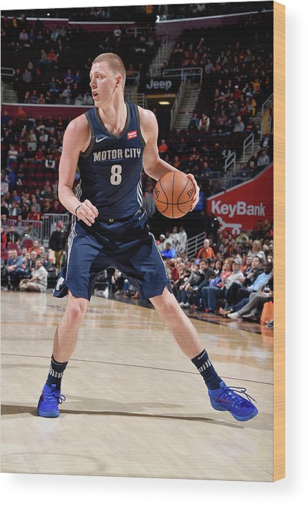 Nba Pro Basketball Wood Print featuring the photograph Henry Ellenson by David Liam Kyle
