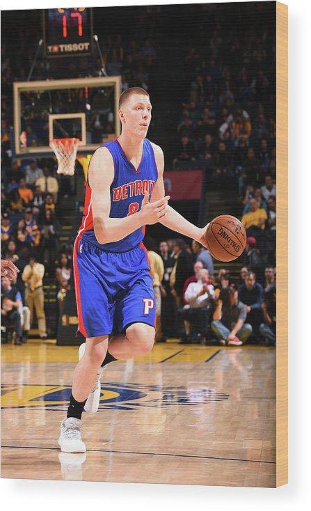 Nba Pro Basketball Wood Print featuring the photograph Henry Ellenson by Noah Graham