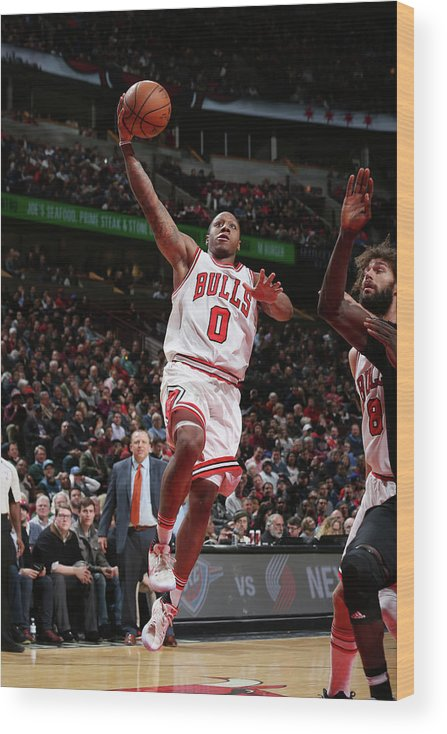Isaiah Canaan Wood Print featuring the photograph Isaiah Canaan by Gary Dineen