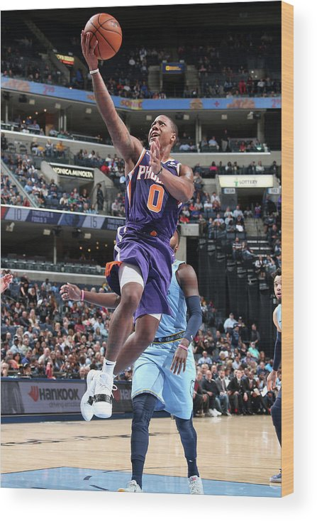 Isaiah Canaan Wood Print featuring the photograph Isaiah Canaan by Ned Dishman
