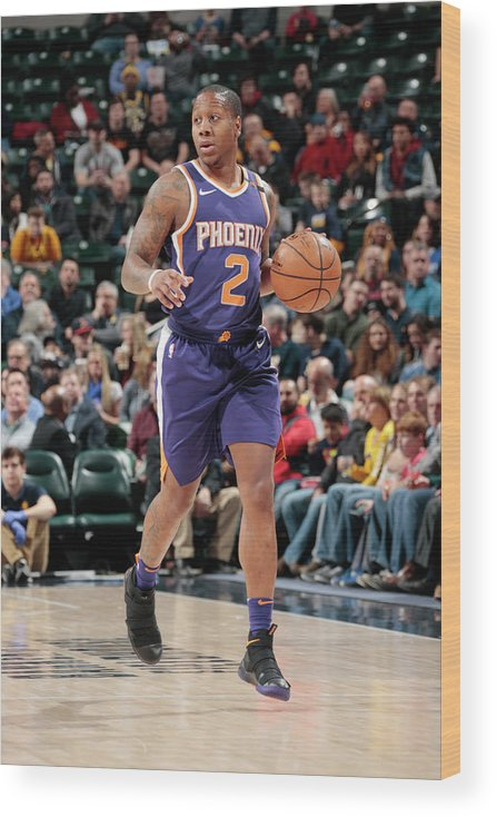 Isaiah Canaan Wood Print featuring the photograph Isaiah Canaan by Ron Hoskins