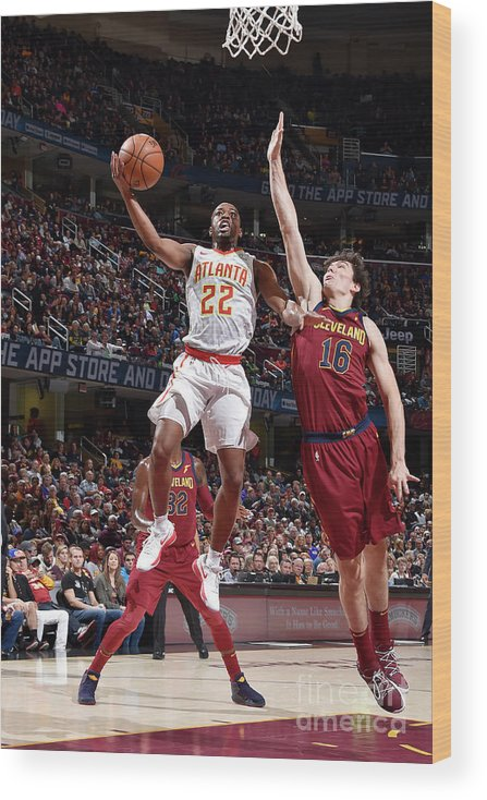 Nba Pro Basketball Wood Print featuring the photograph Isaiah Taylor by David Liam Kyle