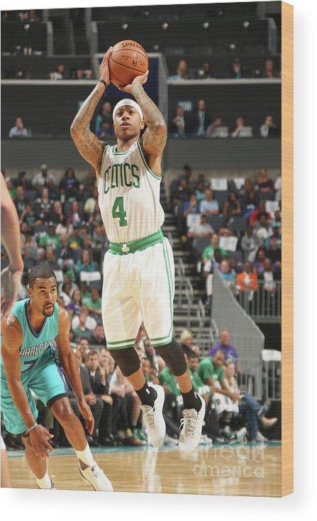 Nba Pro Basketball Wood Print featuring the photograph Isaiah Thomas by Kent Smith
