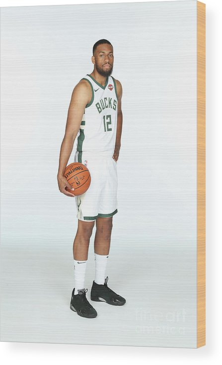 Media Day Wood Print featuring the photograph Jabari Parker by Gary Dineen