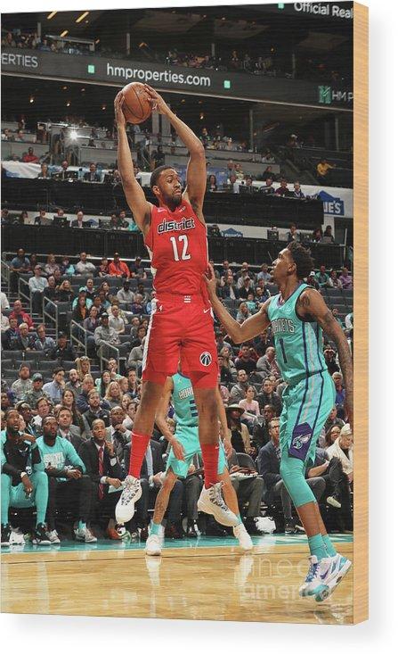 Nba Pro Basketball Wood Print featuring the photograph Jabari Parker by Kent Smith