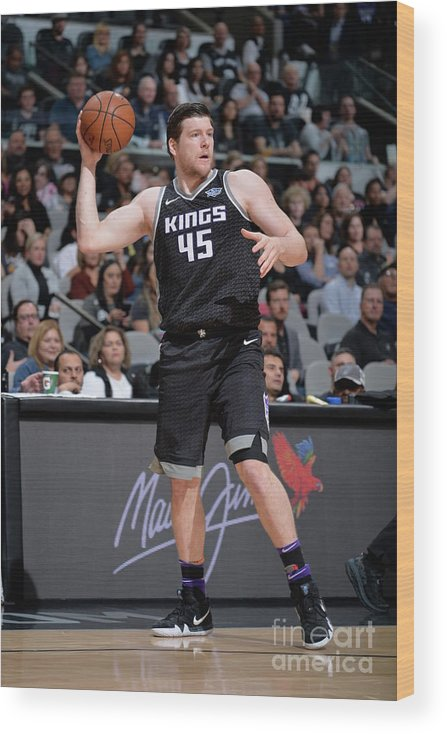 Nba Pro Basketball Wood Print featuring the photograph Jack Cooley by Mark Sobhani