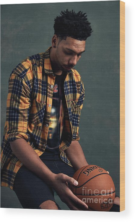 Event Wood Print featuring the photograph Jahlil Okafor by Jennifer Pottheiser
