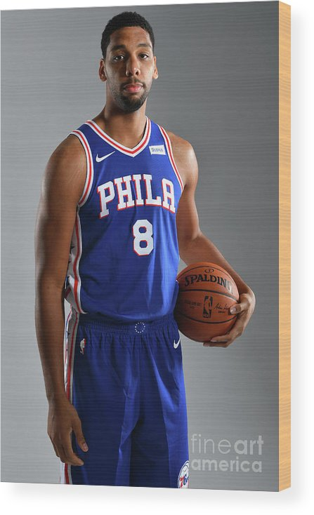 Media Day Wood Print featuring the photograph Jahlil Okafor by Jesse D. Garrabrant