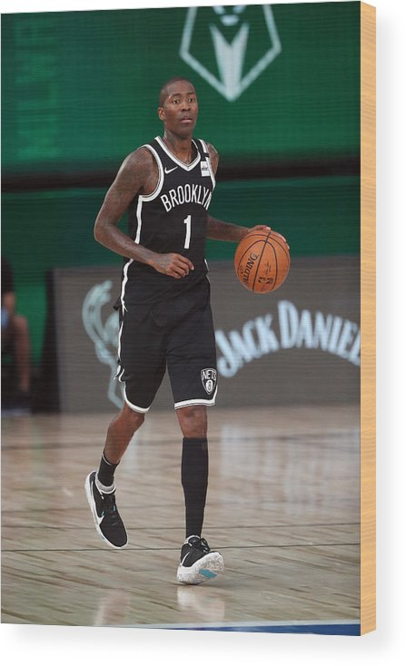 Nba Pro Basketball Wood Print featuring the photograph Jamal Crawford by Joe Murphy