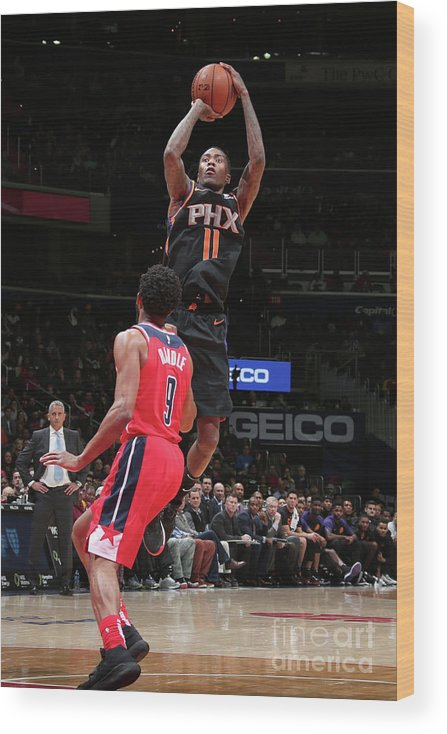 Nba Pro Basketball Wood Print featuring the photograph Jamal Crawford by Ned Dishman