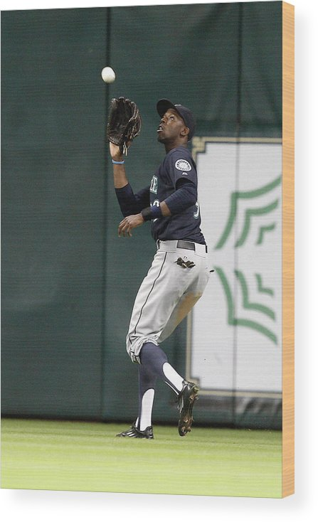 Ninth Inning Wood Print featuring the photograph James Jones by Bob Levey