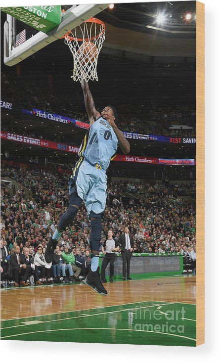 Nba Pro Basketball Wood Print featuring the photograph Jamychal Green by Brian Babineau