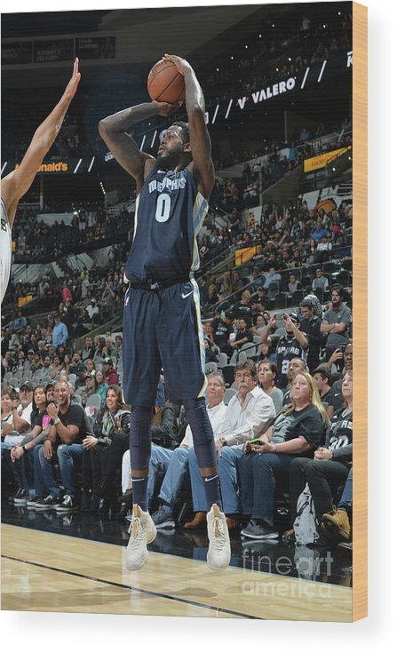 Nba Pro Basketball Wood Print featuring the photograph Jamychal Green by Mark Sobhani