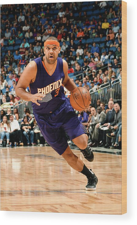 Nba Pro Basketball Wood Print featuring the photograph Jared Dudley by Fernando Medina