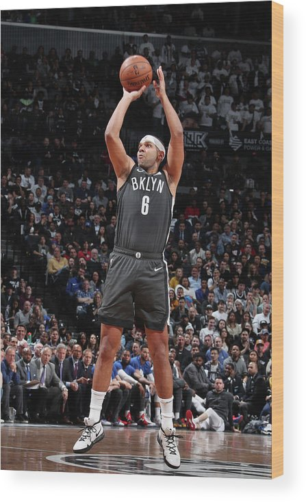 Playoffs Wood Print featuring the photograph Jared Dudley by Nathaniel S. Butler
