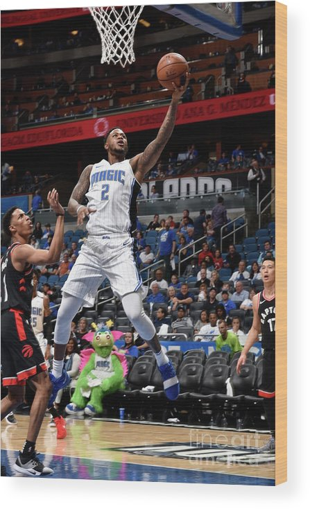 Playoffs Wood Print featuring the photograph Jarell Martin by Gary Bassing