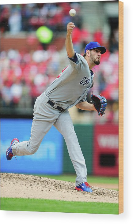 St. Louis Wood Print featuring the photograph Jason Hammel by Jeff Curry