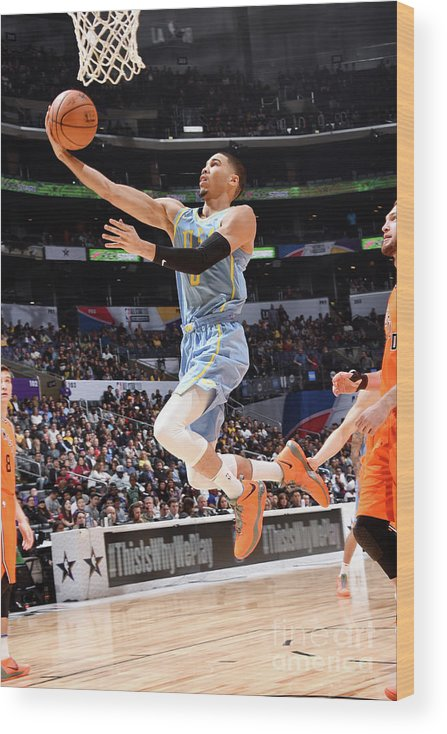 Event Wood Print featuring the photograph Jayson Tatum by Andrew D. Bernstein