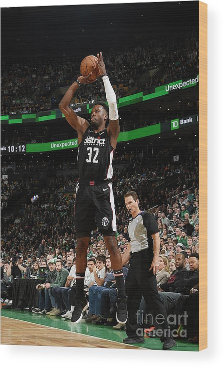 Nba Pro Basketball Wood Print featuring the photograph Jeff Green by Brian Babineau