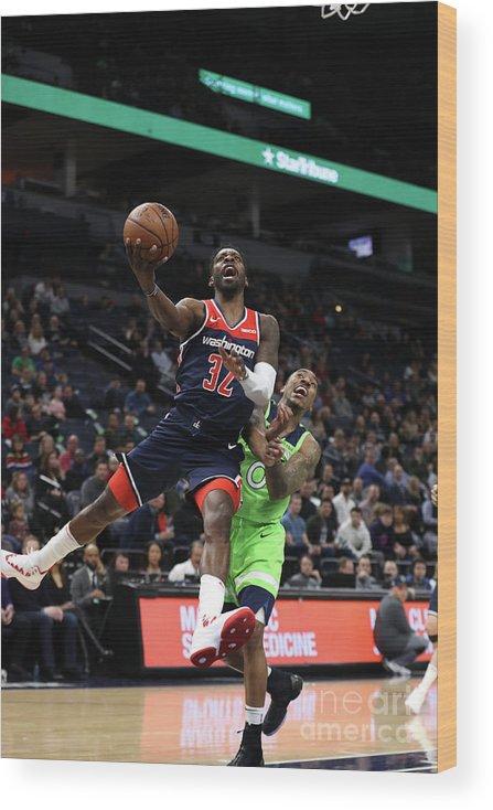 Nba Pro Basketball Wood Print featuring the photograph Jeff Green by Jordan Johnson