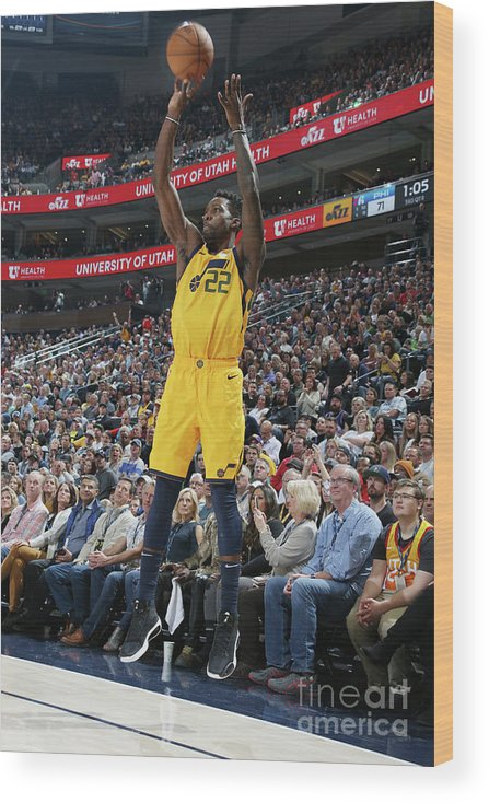Nba Pro Basketball Wood Print featuring the photograph Jeff Green by Melissa Majchrzak