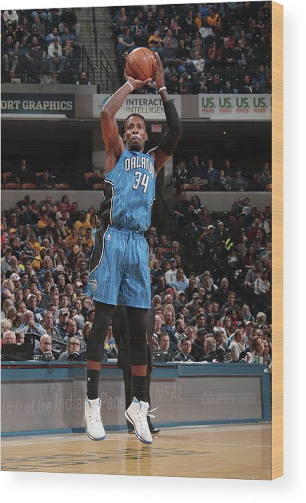 Nba Pro Basketball Wood Print featuring the photograph Jeff Green by Ron Hoskins