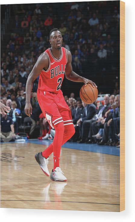 Nba Pro Basketball Wood Print featuring the photograph Jerian Grant by Layne Murdoch