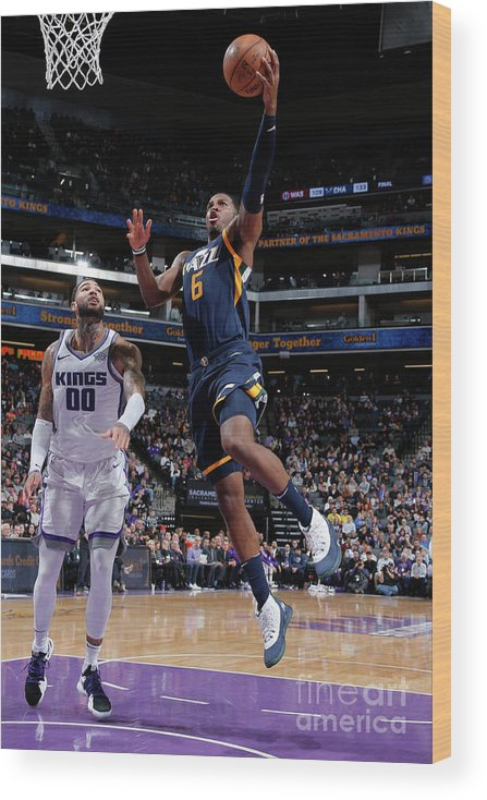 Nba Pro Basketball Wood Print featuring the photograph Joe Johnson by Rocky Widner