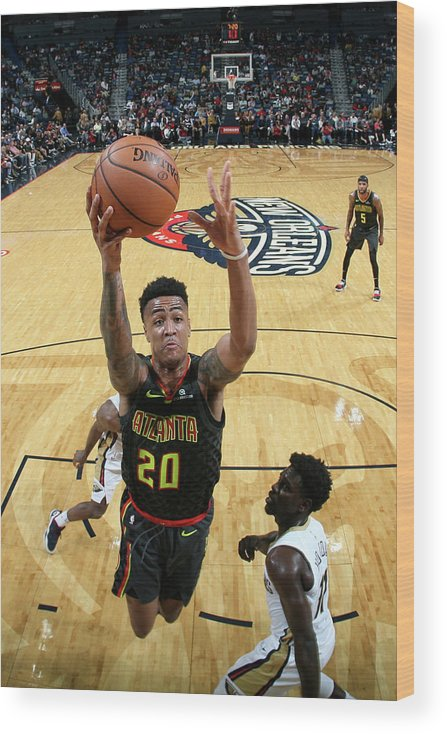 Smoothie King Center Wood Print featuring the photograph John Collins by Layne Murdoch