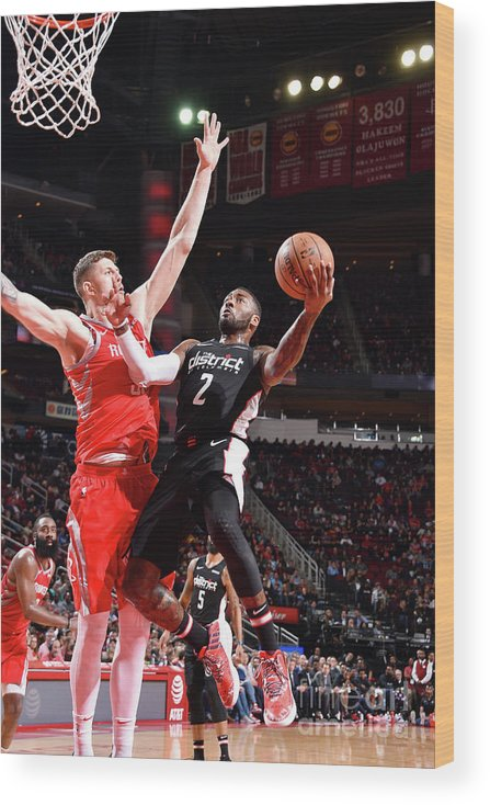 Nba Pro Basketball Wood Print featuring the photograph John Wall by Bill Baptist
