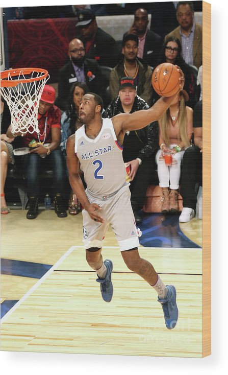 Event Wood Print featuring the photograph John Wall by Layne Murdoch