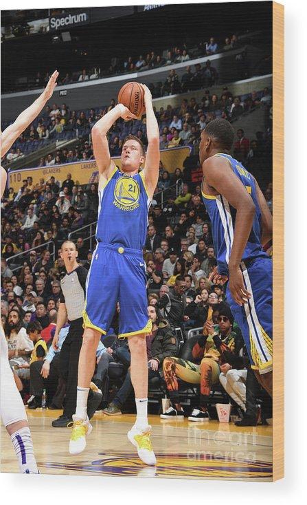 Nba Pro Basketball Wood Print featuring the photograph Jonas Jerebko by Andrew D. Bernstein
