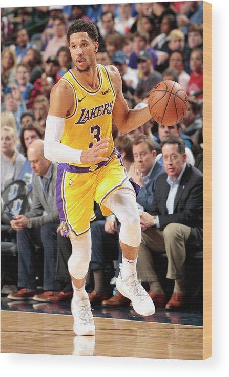 Nba Pro Basketball Wood Print featuring the photograph Josh Hart by Glenn James