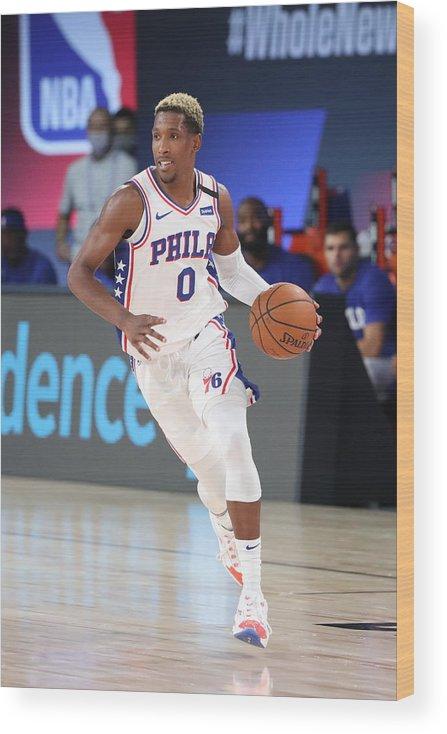 Nba Pro Basketball Wood Print featuring the photograph Josh Richardson by Joe Murphy