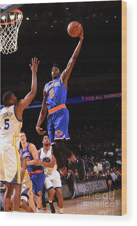 Nba Pro Basketball Wood Print featuring the photograph Justin Holiday by Noah Graham