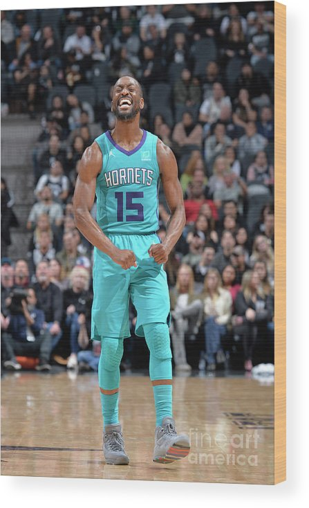 Kemba Walker Wood Print featuring the photograph Kemba Walker by Mark Sobhani