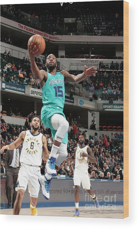 Kemba Walker Wood Print featuring the photograph Kemba Walker by Ron Hoskins