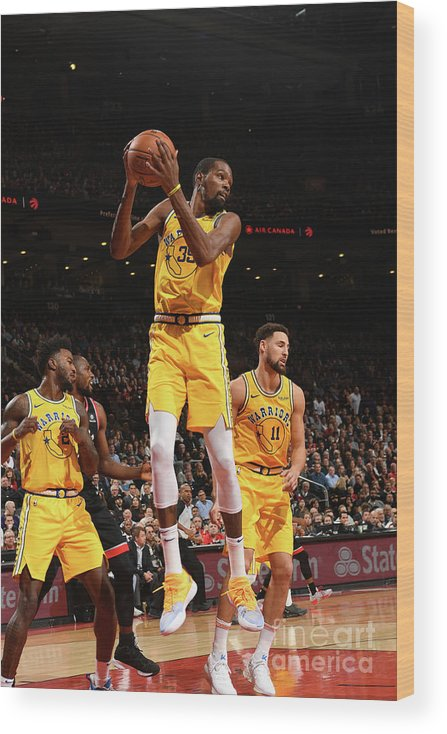 Nba Pro Basketball Wood Print featuring the photograph Kevin Durant by Ron Turenne