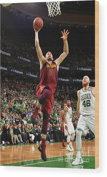 Playoffs Wood Print featuring the photograph Kevin Love by Jesse D. Garrabrant