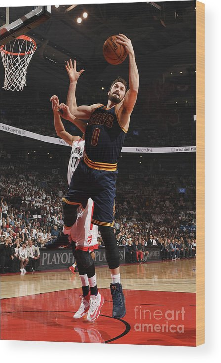 Playoffs Wood Print featuring the photograph Kevin Love by Ron Turenne