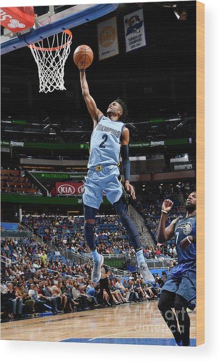 Nba Pro Basketball Wood Print featuring the photograph Kobi Simmons by Fernando Medina