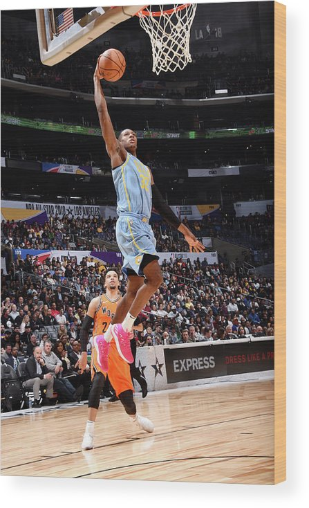 Event Wood Print featuring the photograph Kris Dunn by Andrew D. Bernstein