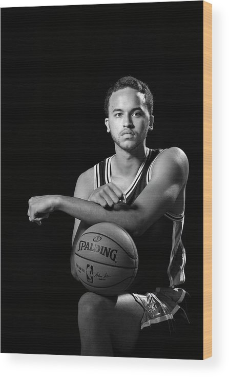 Nba Pro Basketball Wood Print featuring the photograph Kyle Anderson by David Dow