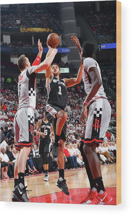 Playoffs Wood Print featuring the photograph Kyle Anderson by Jesse D. Garrabrant