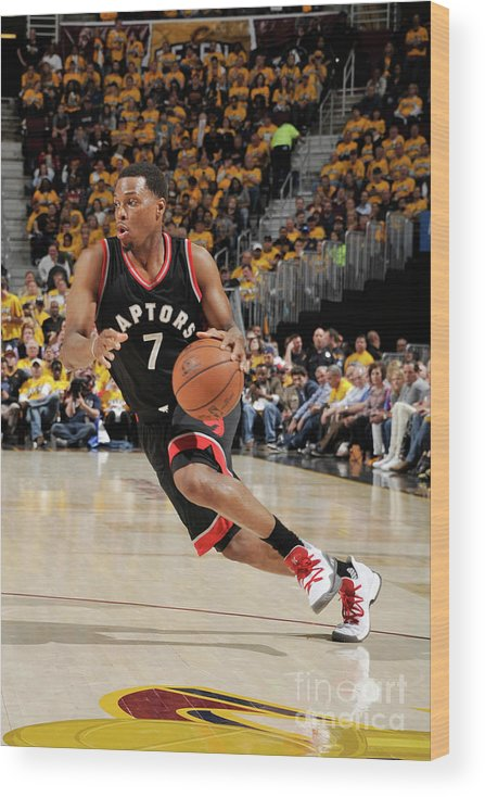 People Wood Print featuring the photograph Kyle Lowry by David Liam Kyle