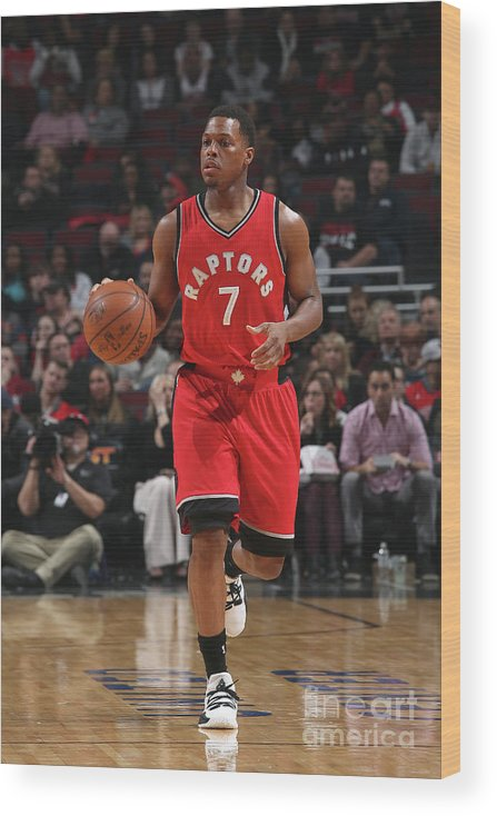 People Wood Print featuring the photograph Kyle Lowry by Gary Dineen