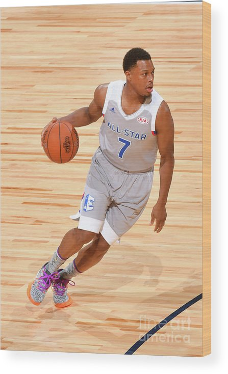 People Wood Print featuring the photograph Kyle Lowry by Jesse D. Garrabrant