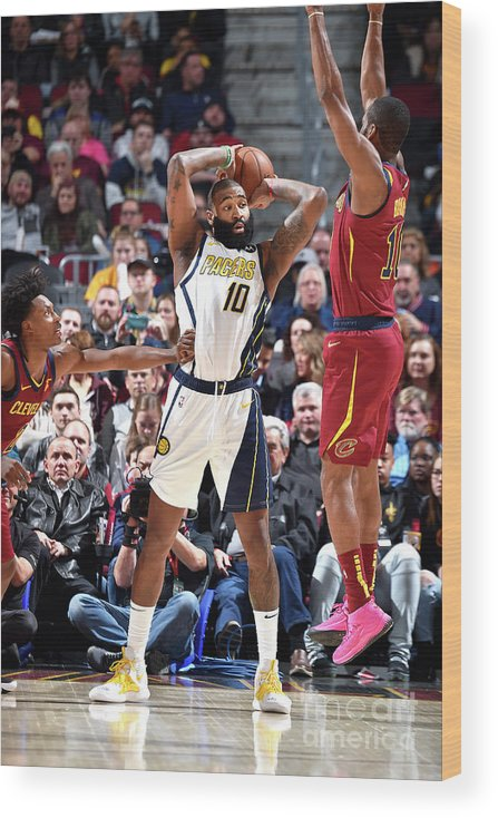 Nba Pro Basketball Wood Print featuring the photograph Kyle O'quinn by David Liam Kyle