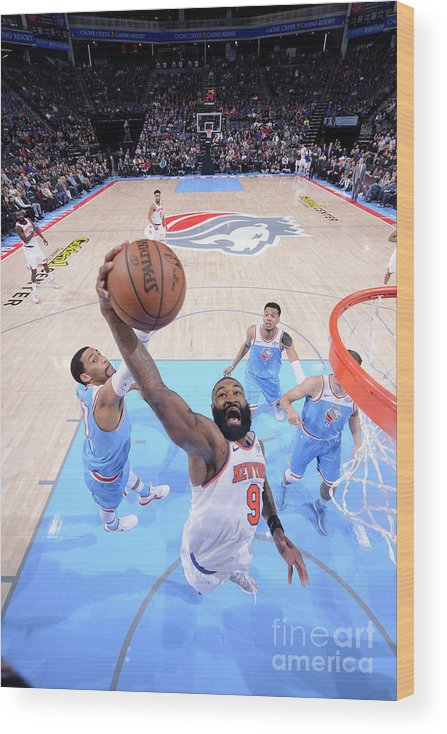 Nba Pro Basketball Wood Print featuring the photograph Kyle O'quinn by Rocky Widner
